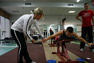 Bendrojo fizinio pasiruošimo treniruotė