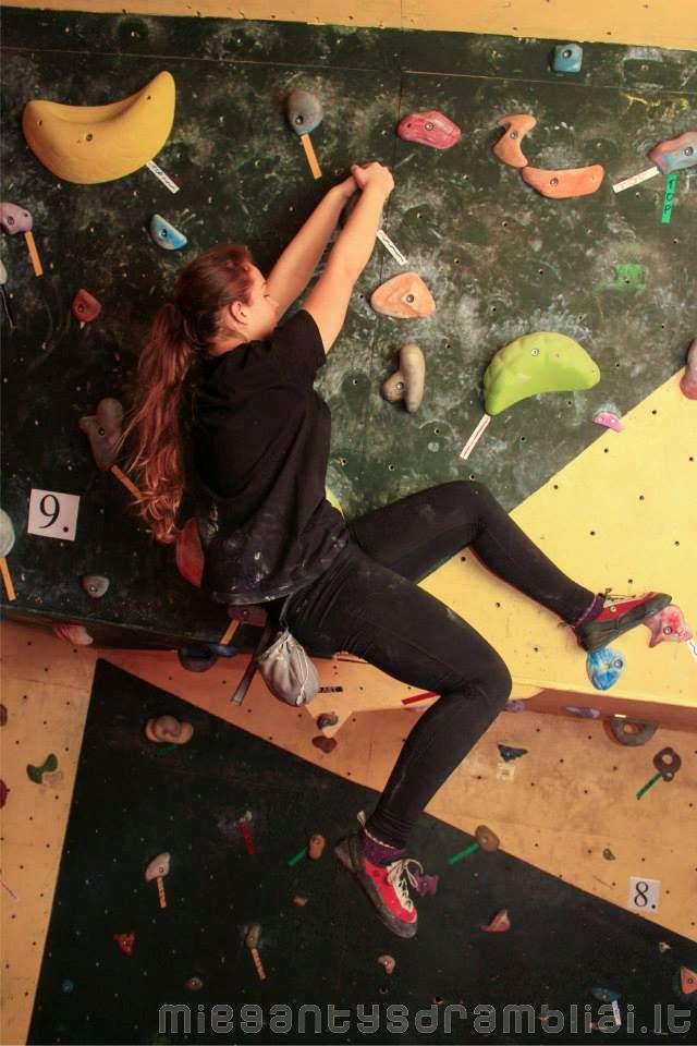 Climber's profile: Aušra Volkaitė