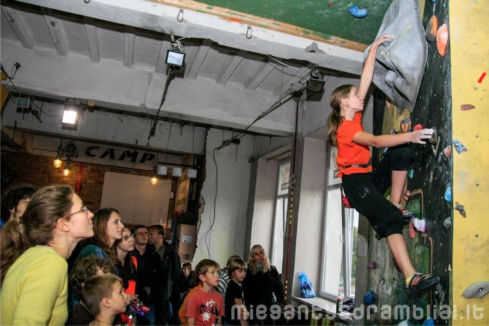 Climber's profile: Monika Šadauskaitė